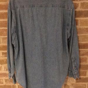 Port Authority Tops - Women's denim shirt